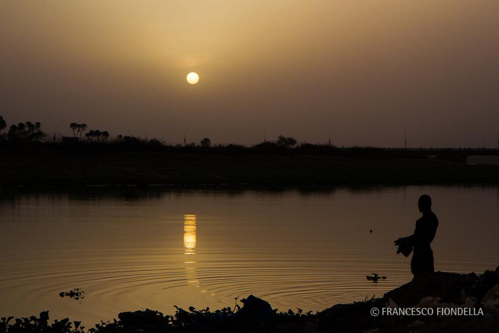 Niger River, Dusk
