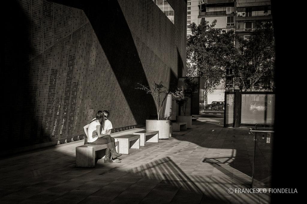 Santiago street scene