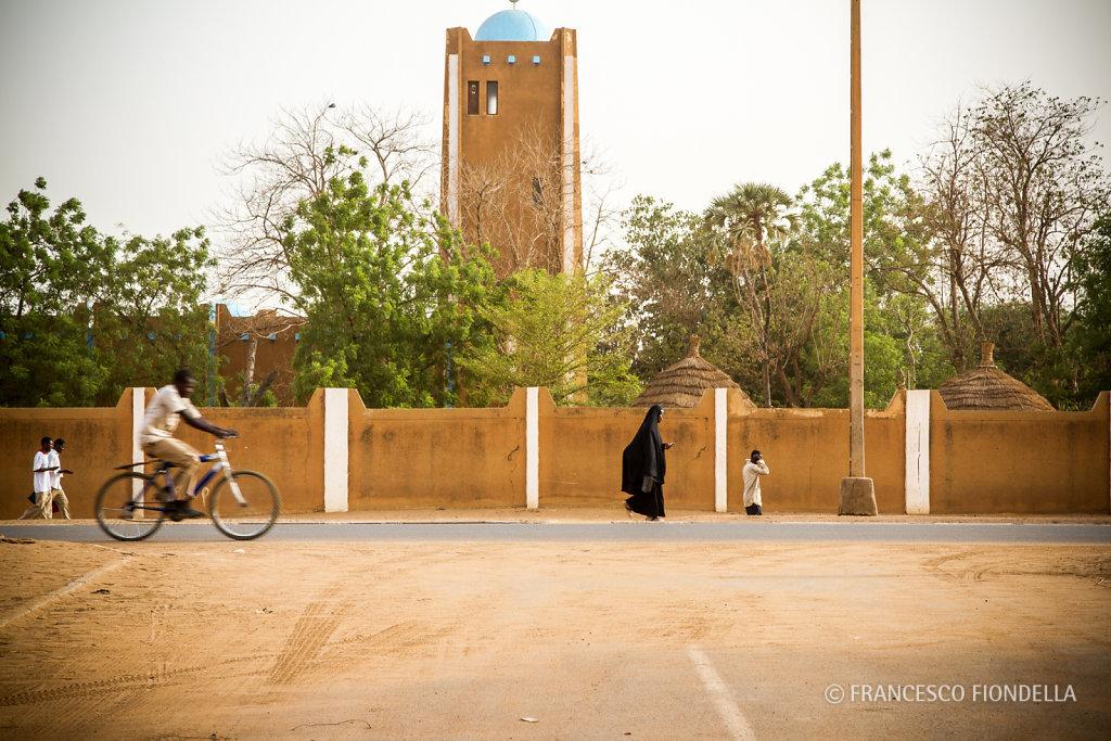 Pedestrians and Bicyclist.