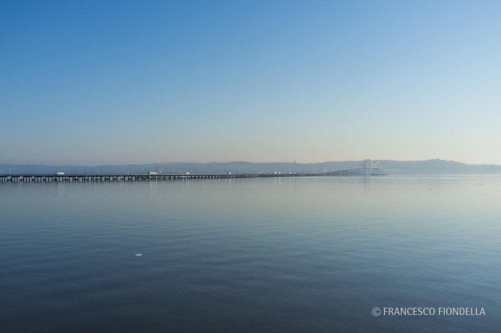 Morning Traffic on the Tappan Zee Bridge