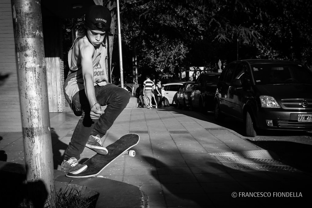 Skateboarder, Buenos Aires