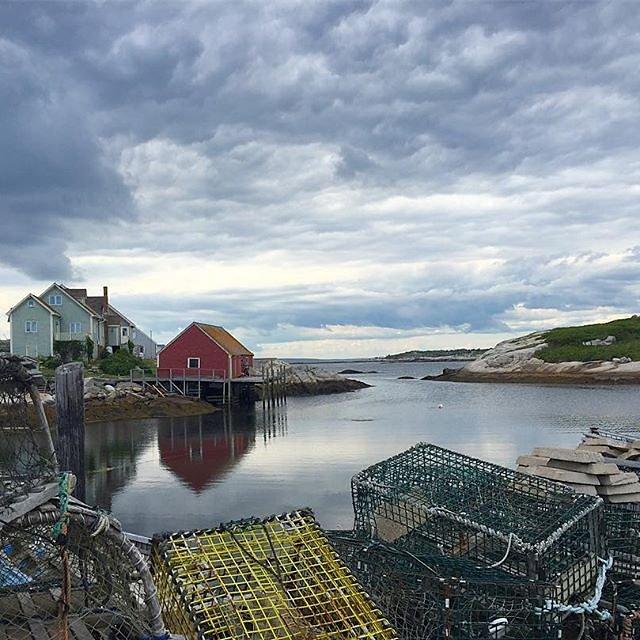 View of Peggy's Cove, Nova Scotia.        *****